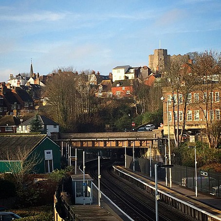 Lewes Station View