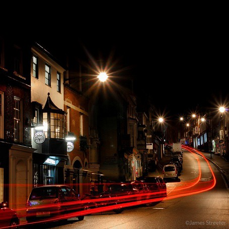 Lewes at night