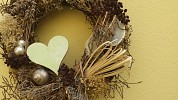Make a symbolic wreath or festive decoration to adorn your home