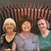 Iris Bishop, Marilyn Bennett, Sue Gates, Lewes Saturday Folk Club