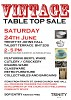 VINTAGE Table Top Sale
