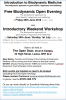 FREE OPEN EVENING INTRODUCTION TO BIODYNAMIC MEDICINE