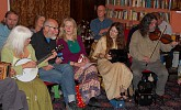 English tunes session, Lewes Saturday Folk Club