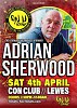 Adrian Sherwood  POSTPONED at the Con Club