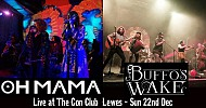 Buffos Wake and Oh Mama evening at the Con Club
