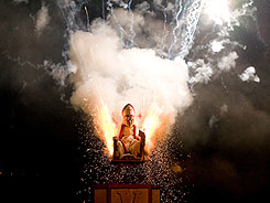 The pope a Lewes Bonfire